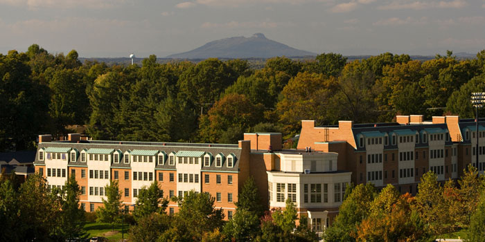 Photo of the Reynolda Campus of Wake Forest University