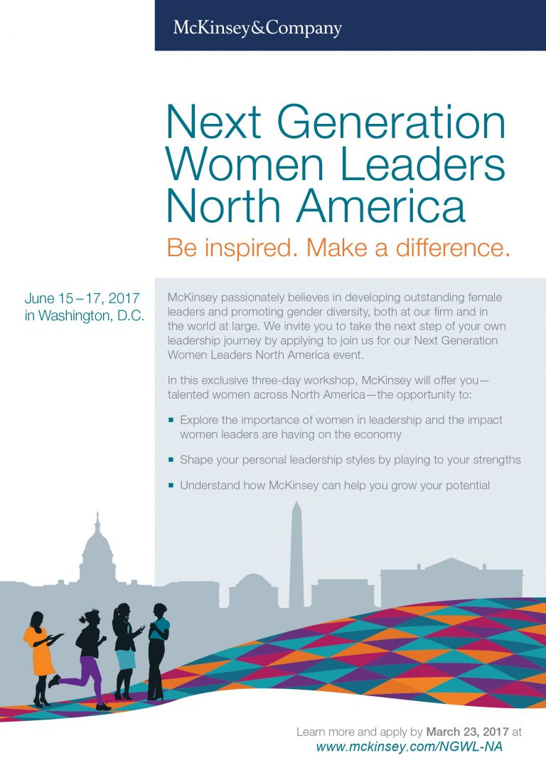 Next Generation Women Leaders 2017 - North America