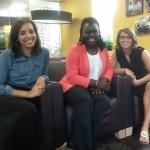 Maeghan with coworkers