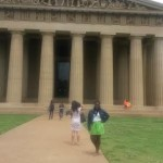 Nashville is known as the Athens of the South, so it was only appropriate to visit The Parthenon.