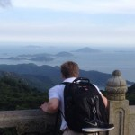 Lantau Island from the top of the Buddha