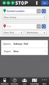 I really recommend HopStop to anyone who has to use the Subway in NYC.