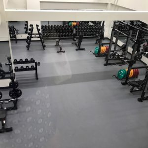 gym area from above