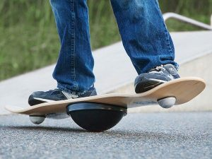 it is hard to keep your balance on a balance board