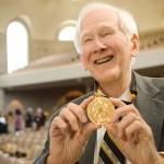 Ed Christman received the Medallion of Merit in 2007.
