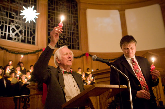 Ed Christman at Lovefeast in 2007.