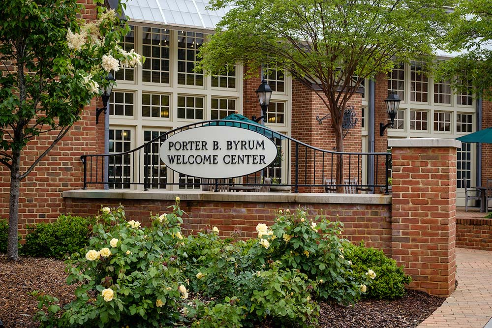 Porter B. Byrum Welcome Center