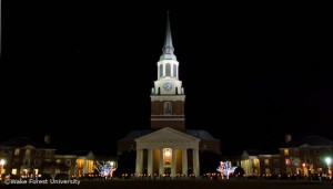 Holiday scene, Wait Chapel