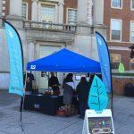Blue PEERS Tent
