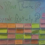Favorite Break Activity Whiteboard