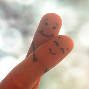 Fingers Hugging