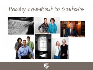 Faculty Committed to Students