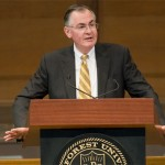 Dr. Hatch delivers his State of the University Address