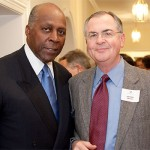 Lawyer, businessman, and political adviser Vernon Jordan (left) with President Hatch