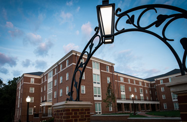 Magnolia and Dogwood residence halls opened this fall.