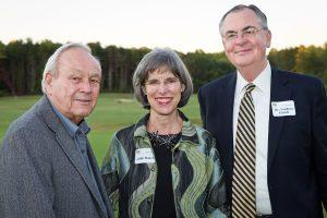 Arnold Palmer, Julie Hatch and Nathan Hatch