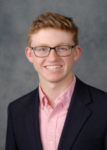 Wake Forest President's Aides headshots, Thursday, April 27, 2017. Clay Hamilton ('18).