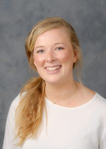 Wake Forest President's Aides headshots, Thursday, April 27, 2017. Kate Bechtel ('18).