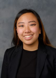 Wake Forest President's Aides headshots, Thursday, April 27, 2017. Lucy Shen ('18).