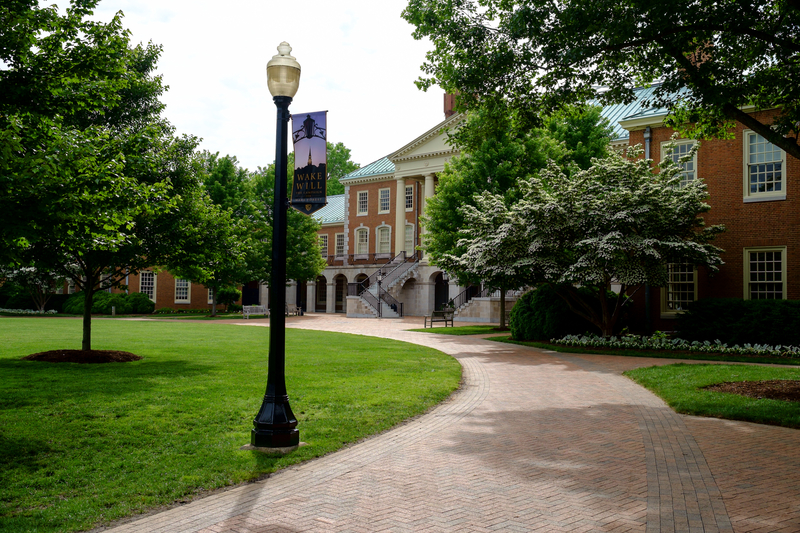 Wake Forest After Commencement