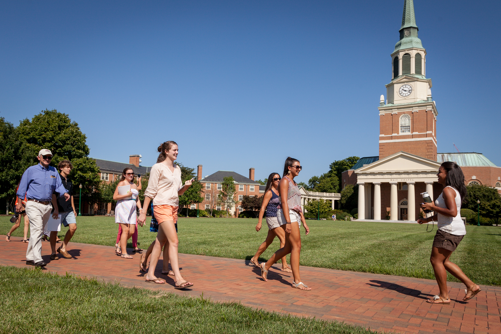 Student Tour, Tour Guide, Office of Admissions