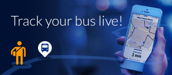 Track your bus live!