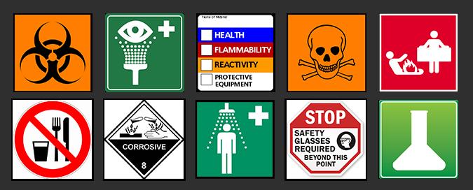 Lab Safety Graphic