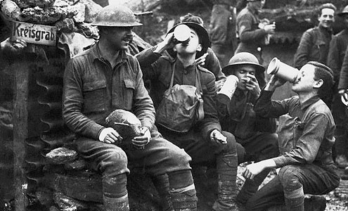 Images of the American soldier have changed over time, according to professor David Lubin, who is writing a book on the imagery of World War I.