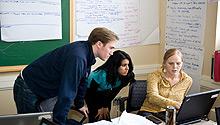 Students preparing for Marketing Summit