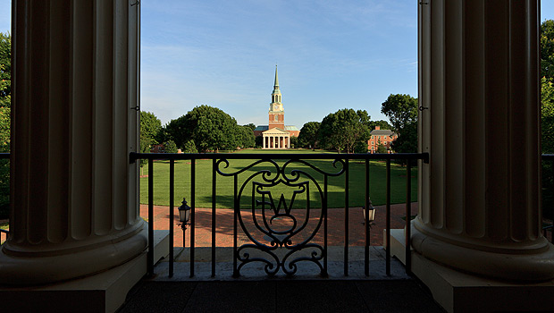 Quad at Wake Forest