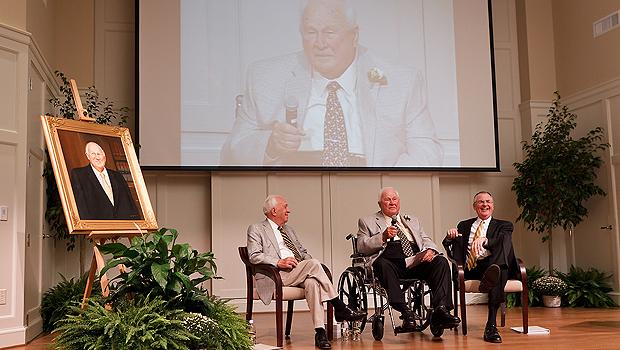 Ed Wilson, Porter Byrum and Nathan O. Hatch