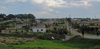 Zumani Township in South Africa