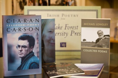 Poetry books published by the WFU Press
