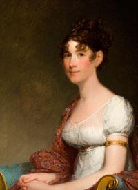 """""""Mrs. Harrison Gray Otis"""" (1809) by Gilbert Stuart"""