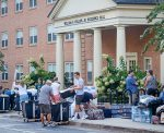 Wake Forest University Class of 2020 move in to their dorms in 2016.