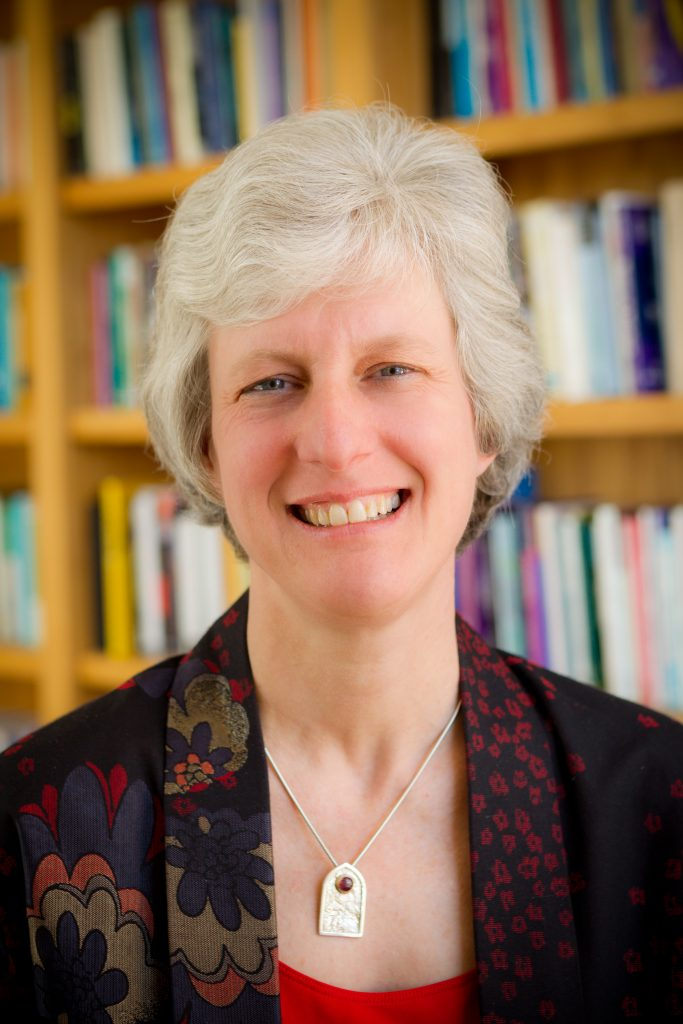 Jill Crainshaw, Associate Dean and professor in the Wake Forest School of Divinity, in her office in Wingate Hall on Wednesday, March 2, 2011.