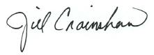 Digital Signature of Jill Crainshaw