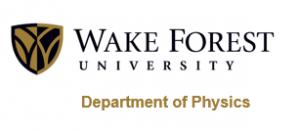 WFU Department of Physics