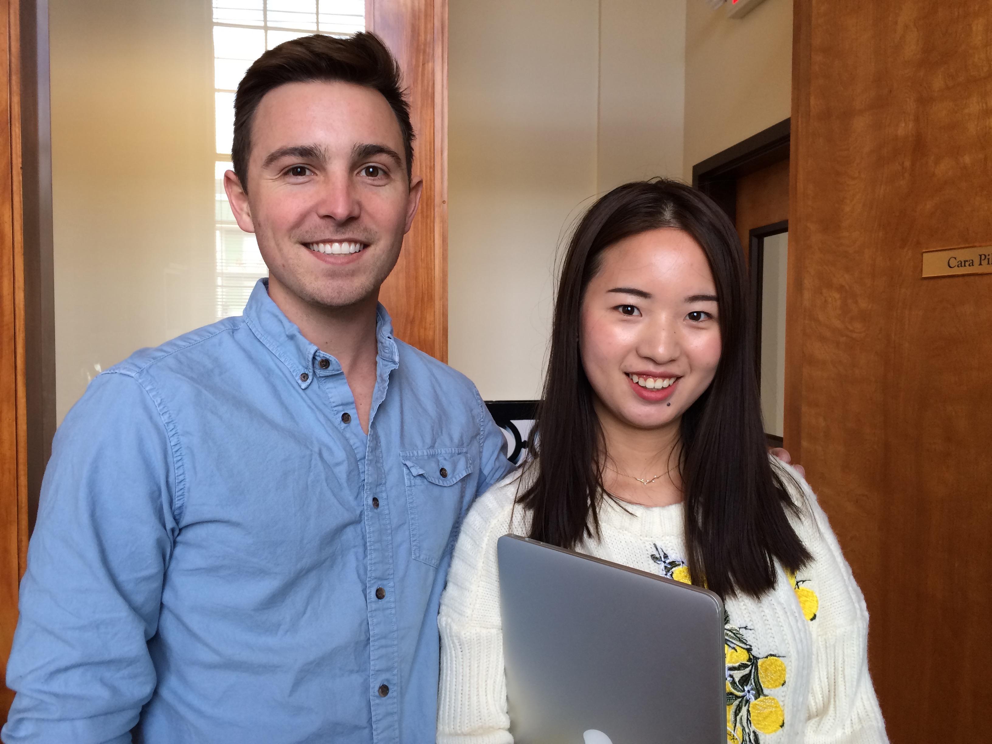 2018 RiverRun Student Jurors Stan Wright & Xiao Xiao