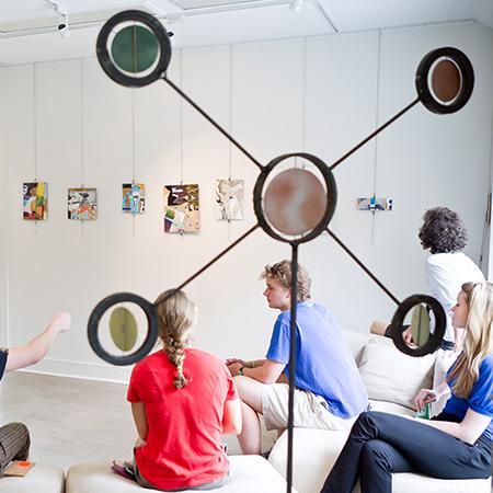 Visit the START Gallery in Reynolda Village
