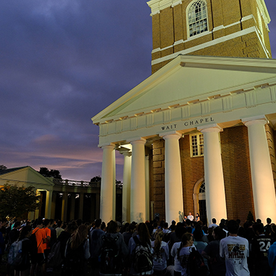 WFU Family Weekend Sunday Campus Services