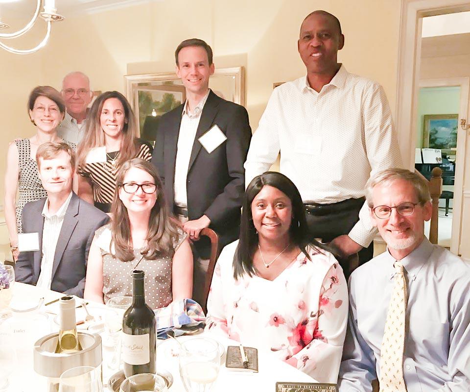C2C Dinner Atlanta participants