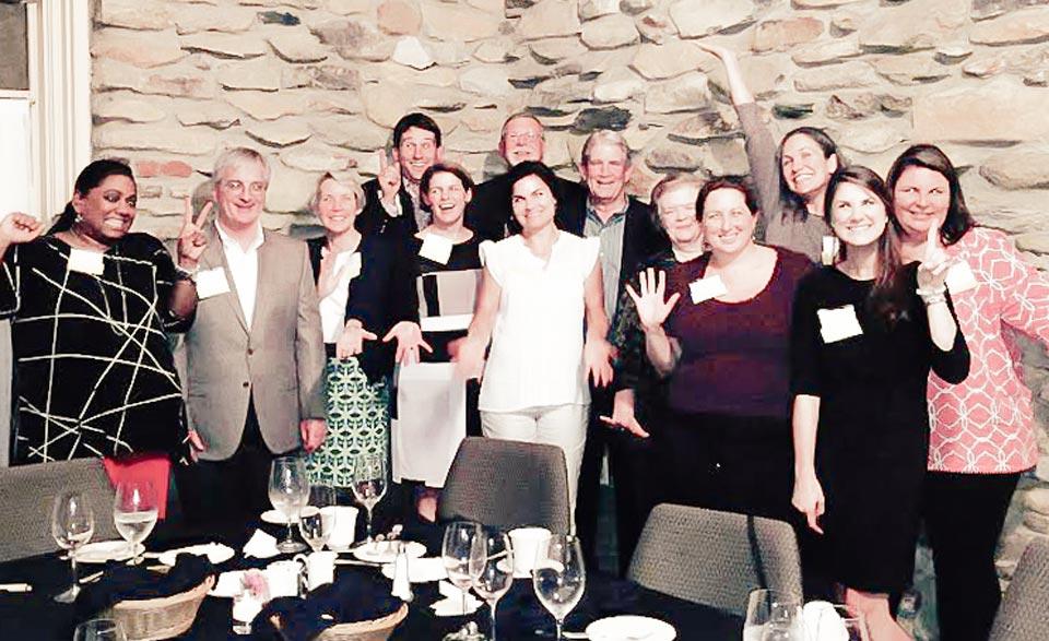 C2C Winston-Salem dinner participants