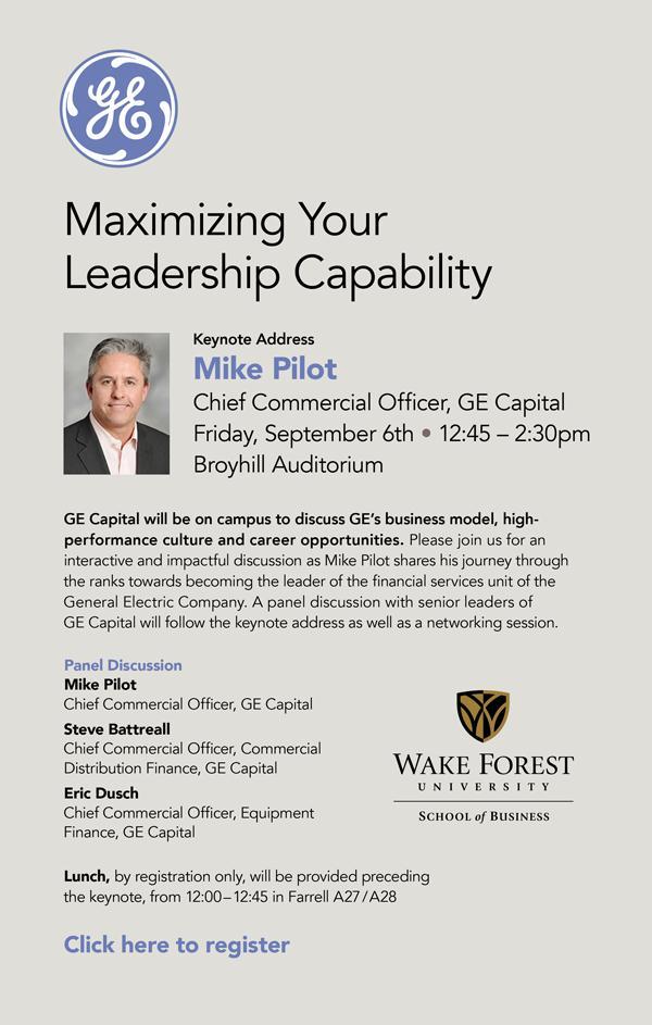 GE Capital Day