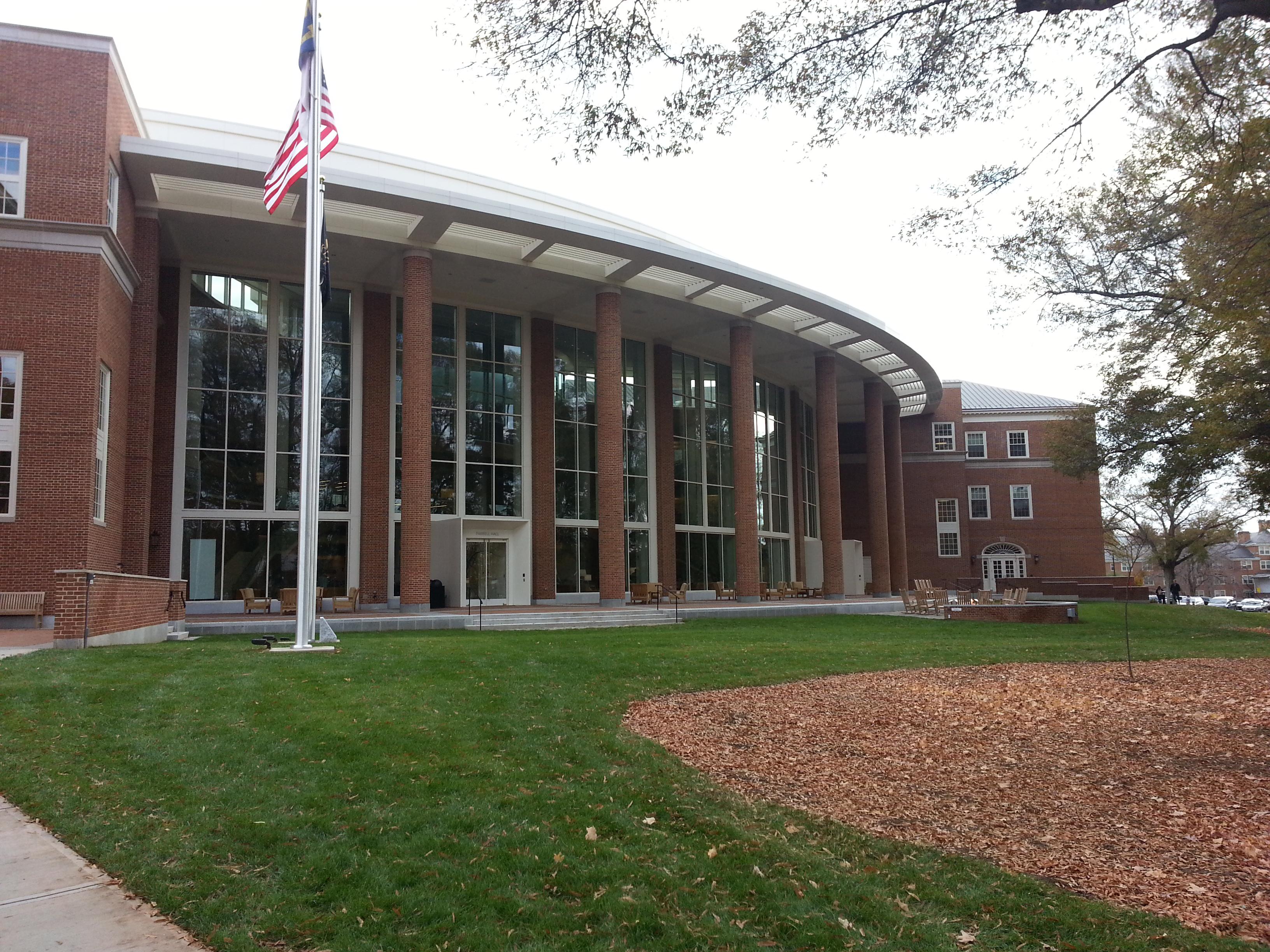 Farrell Hall Recruiter Entrance