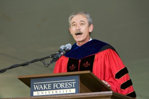 Gordon at Commencement in 2007.