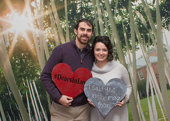 On Saturday, February 6, 2016 the Office of Advancement at Wake Forest University hosted the first annual Deacs in Love brunch in the Magnolia Room on its campus in Winston Salem, NC. Image copyright Lauren Olinger