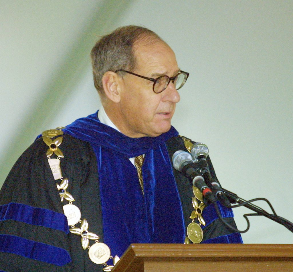 Wake Forest University President Dr. Thomas K. Hearn, Jr.