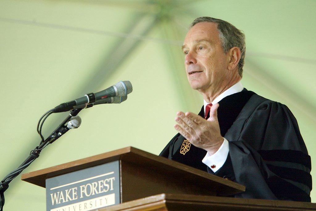 New York City Mayor Michael Bloomberg