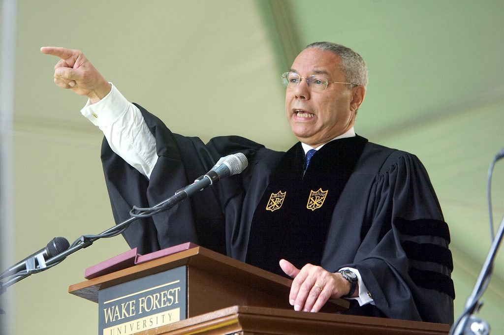 U.S. Secretary of State Colin Powell